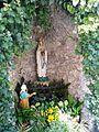 Marien Grotte bei der Kirche St. Cyriak in Malsch - panoramio.jpg