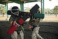Marine recruits compete in simulated bayonet battles on Parris Island 131030-M-LQ078-081.jpg