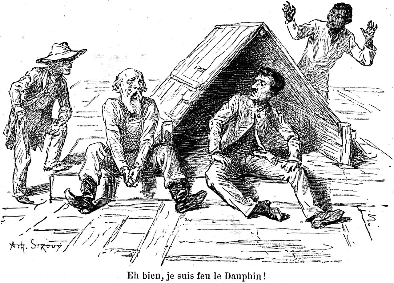 Filemark Twain Les Aventures De Huck Finn Illustration P141g