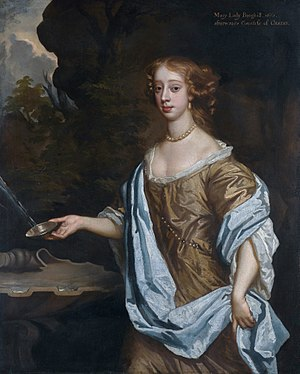 Roger Boyle, 2nd Earl of Orrery - Mary, Countess of Orrery (studio of Peter Lely)