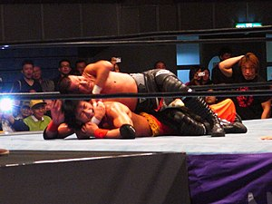 Masahiro Chono - Chono applying the STF on Kenso