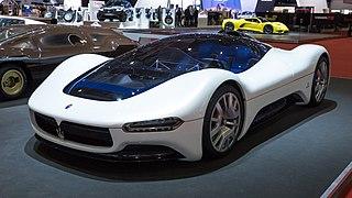 Maserati Birdcage 75th Motor vehicle