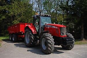 AGCO - Massey Ferguson 6490 tractor, in 2008