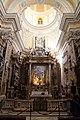 Massimo stanzione, madonna e le anime purganti (1638-42), entro altare di dionisio lazzari, 1655-69, 00.jpg