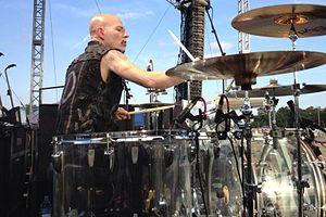 Matt Starr - Matt Starr playing drums in Detroit, MI 2012 with KISS guitarist Ace Frehley