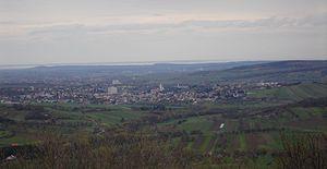 Mattersburg - Mattersburg towards Lake Neusiedl