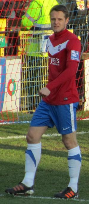Matthew Blinkhorn - Blinkhorn playing for York City in 2012