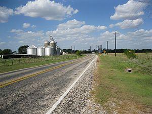 Matthews, Texas - Image: Matthews TX Silos