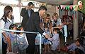 Mauricio Macri inauguró un jardín maternal en Nueva Pompeya (6948341712).jpg