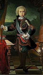 Maximilian Joseph as electoral prince