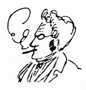 Bildnis Max Stirners um 1841/42 Ampliación de ...