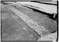 May 1958 OPEN DRAIN FROM NORTHWEST - Fort Frederica, Barracks (Ruins), Saint Simons Island, Glynn County, GA HABS GA,64-FRED,1-13.tif