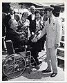 Mayor John F. Collins; Mary Collins; Sirikit Kitiyakara, Queen of Thailand; Bhumibol Adulyadej, King of Thailand (13559816583).jpg
