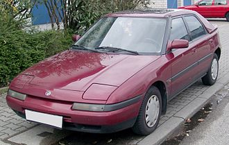 Eunos (automobile) - Image: Mazda 323f front 20080301
