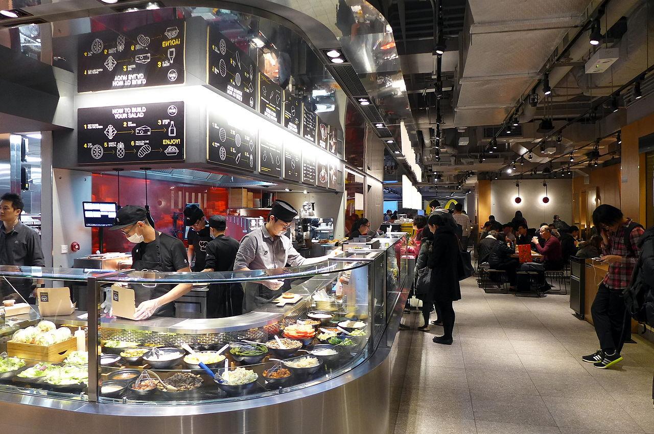 Digital Kitchen Near Train Station With Food Chicago
