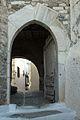 Medieval gate with wooden door, Kastro, Naxos Town, 110224.jpg
