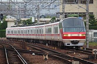Meitetsu 1200 series - 6-car 1200 series set 1115 in July 2009