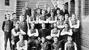 Melbourne Football Club - Melbourne FC, 1900 premiers.