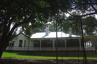 """Seven Hills, New South Wales - View of the restored """"Melrose"""" taken from the east side looking west - 2015"""