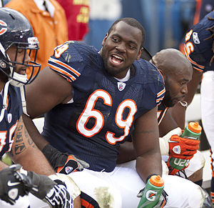 Henry Melton - Melton with the Chicago Bears in 2010