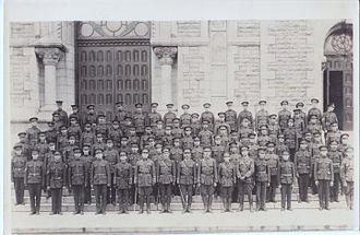Le Régiment de Hull (RCAC) - Officers, NCOs and men of Le Régiment de Hull, c. 1922