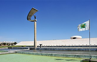 JK Memorial - Image: Memorial J Kubitschek Brasilia 2009