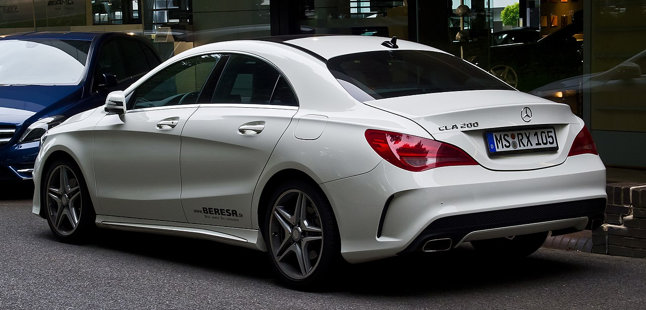 Mercedes Amg Cla  Matic Stern F Ef Bf Bdr Heckklappe