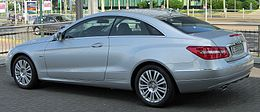 Mercedes E 350 CGI BlueEFFICIENCY Coupé (C207) rear 20100704.jpg