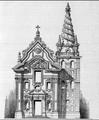 Messina chiesa di San Gregorio, facciata e campanile.png