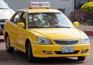 Meter Taxi in Vientiane 01