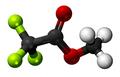 Methyl trifluoroacetate3D.png