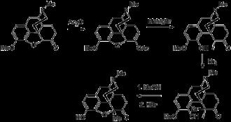 Metopon - Image: Metopon synthesis