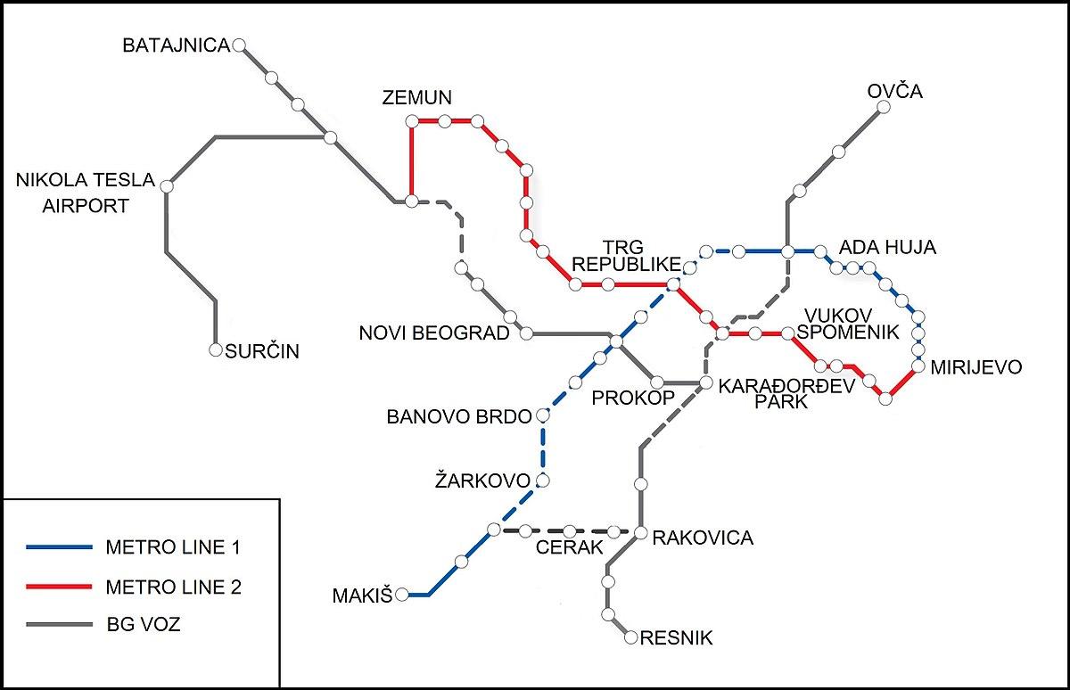 Belgrade Metro Wikipedia