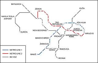 Belgrade Metro