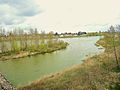 Meung-sur-Loire. Panorama sur la loire depuis la rive Est. 2015-04-11.JPG