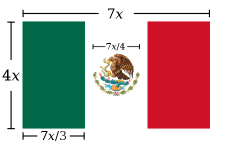 Mexico flag construction sheet.svg