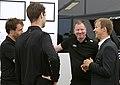Michael Petit (Race Engineer), Johan Svensson (Performance Engineer), Janne Ljungberg (Technical Director), Mattias Ekström (S) (36123582674).jpg