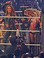 Mickie James and Alexa Bliss WrestleMania 34 April 2018.jpg