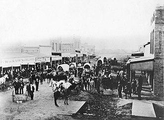Midland, Texas - Main Street, 1894