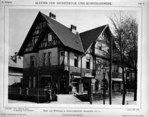 Blätter für Architektur und Kunsthandwerk, 1897, Tafel 97