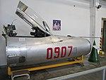 Mikoyan MiG-21PFM cockpit at Luftfahrtmuseum Wernigerode.jpg