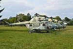 Mil Mi-2 row - Krakow Museum. 23-8-2013 (16418042968).jpg