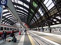 Milan railway station, platform view towards entry hall.jpg