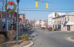 Milford, Delaware - Walnut Street in Milford in 2006