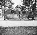 Military wagon, Vancouver Barracks, Washington, between 1890 and 1899 (WASTATE 433).jpeg