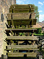 Mill wheel at Cheddleton Flint Mill, Staffordshire (geograph 2472789).jpg