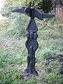 Millennium milepost, Crosshouse - geograph.org.uk - 1480532.jpg