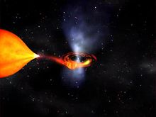 Fichier:Millisecond pulsar and accretion disk - NASA animation (hi-res).ogv