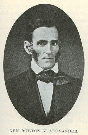 Milton Alexander - General Milton K. Alexander