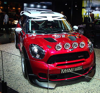 Mini John Cooper Works WRC - Image: Mini WRC